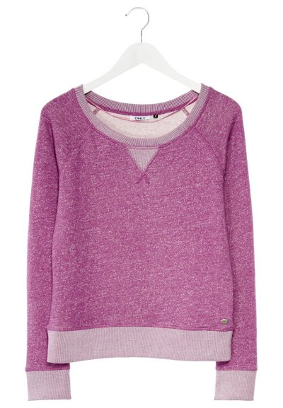 ONLY ONLSIDUS - Sweater - Paars € 24,95. Comfy voor tijdens de wat koudere herfstdagen!