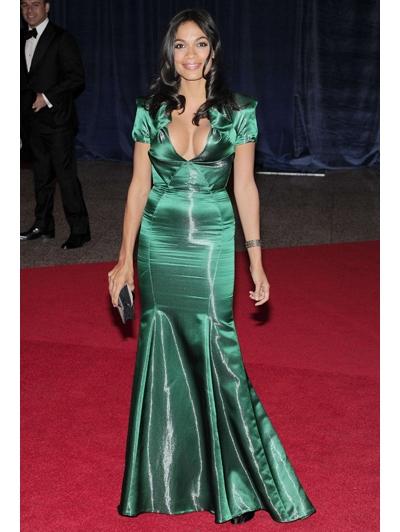 Écht een jurk voor een avondje met de Obama's...OMG.