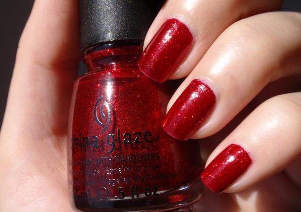 China Glaze Ruby Pumps