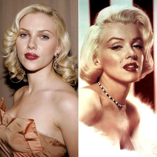 Scarlett Johansson vs Marilyn.