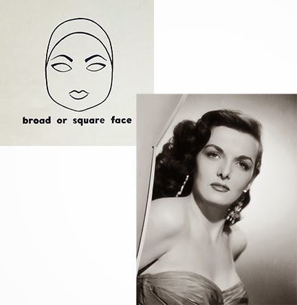 Vintage Eyebrows Broad face