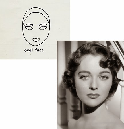 Vintage Eyebrows oval face