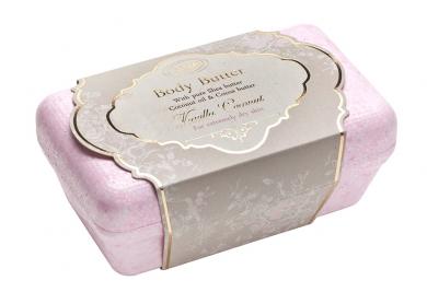 Productomschrijving: Behandel dit product als je dat met boter zou doen, het moet worden bewaard bij kamertemperatuur, of in de koelkast voor een zomer traktatie. Breek een stuk af en masseer het in je huid.