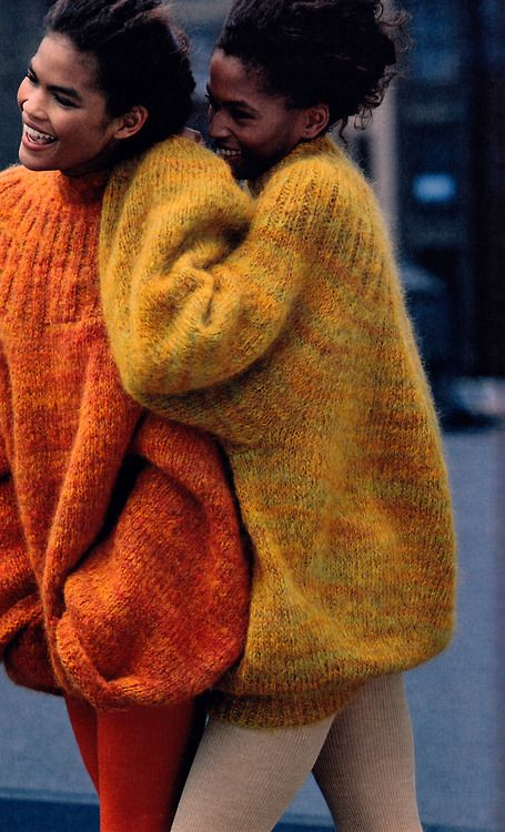 Sweaters by Marc Jacobs 1989.