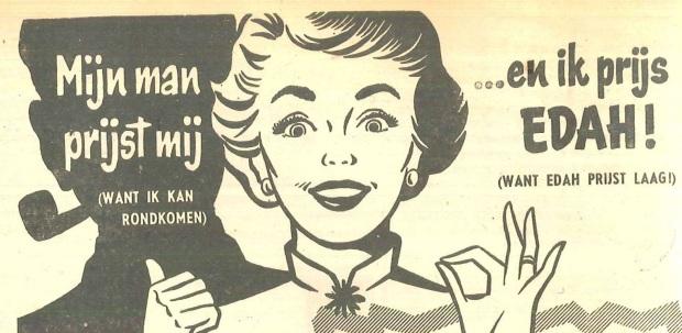 De Echo - vrijdag 8 januari 1954 Uitsnede van de kop