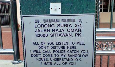 Ondertussen ergens in Maleisië...