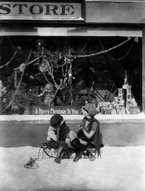 Nog een prachtige kerstetalage in de jaren 20.