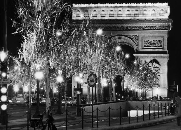 De Arc de Triomphe, Parijs, 1971.
