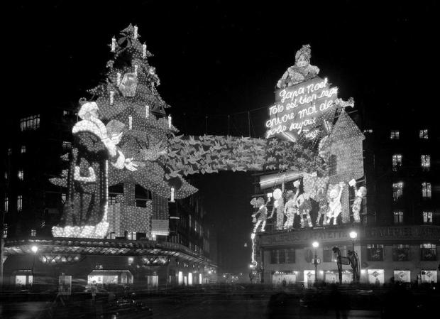 Les Galeries Lafayette, Parijs, 1934.