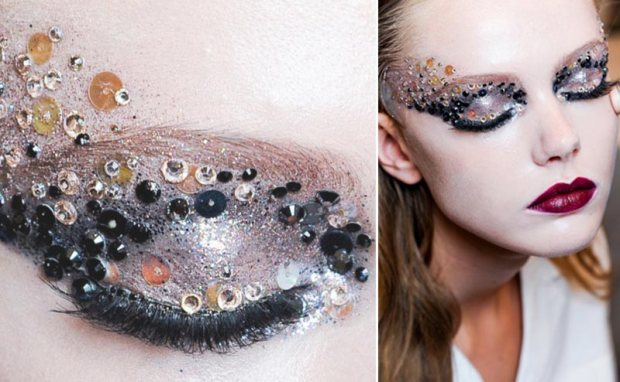 party-makeup-sequins-dior-catwalk