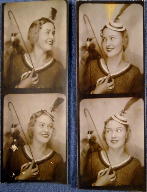 1930s Photo Booth Beauty