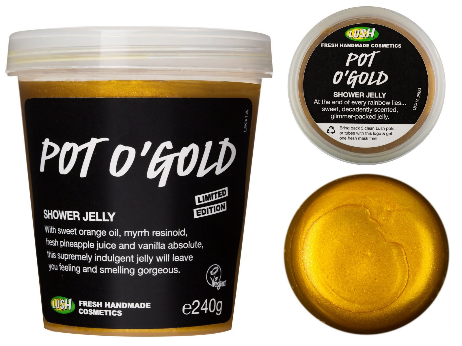 lush uk reviews pot o u0027 gold shower jelly