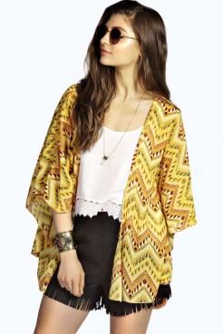 Boho print kimono, €23,00.