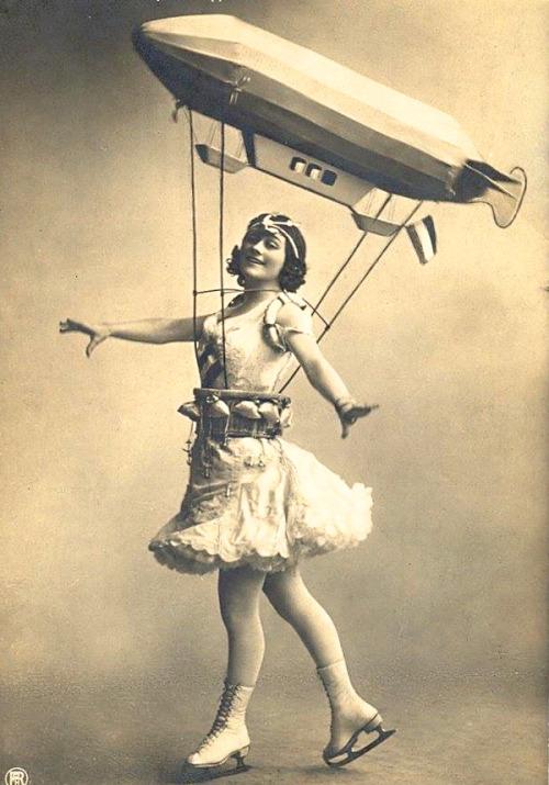 Ice Skating Costume, 1920s.