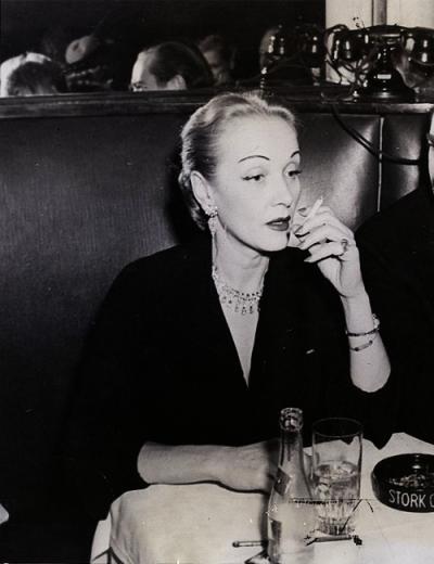 Marlene Dietrich, 1948.