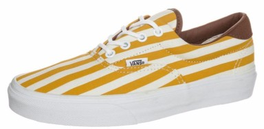 VANS gympies in yellow/gold, €74,95.
