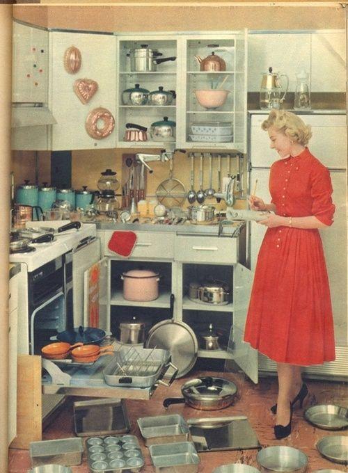 Basic jaren 50 keuken.