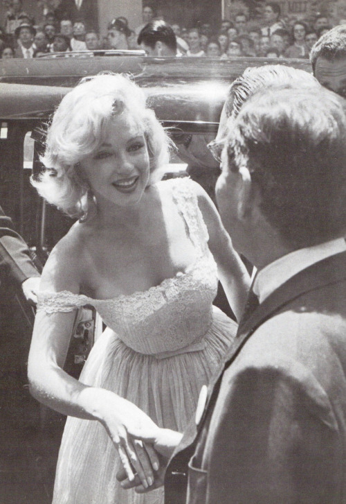 Marilyn Monroe meets and greets.