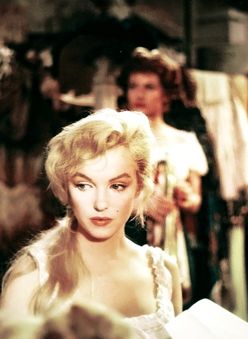 Marilyn Monroe in 'The Prince and The Showgirl', 1956.