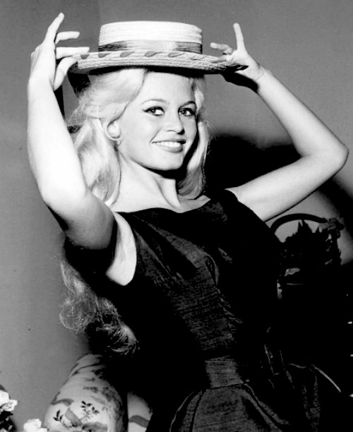 The beautiful Brigitte Bardot.