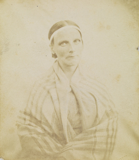 Portrait of a patient, Surrey County Asylum, c. 1855, Dr. Hugh Welch Diamond, The Royal Photographic Society Collection, National Media Museum.