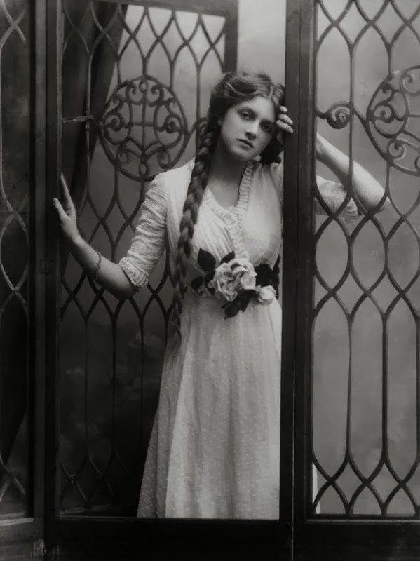 by Bassano, half-plate negative, 1910