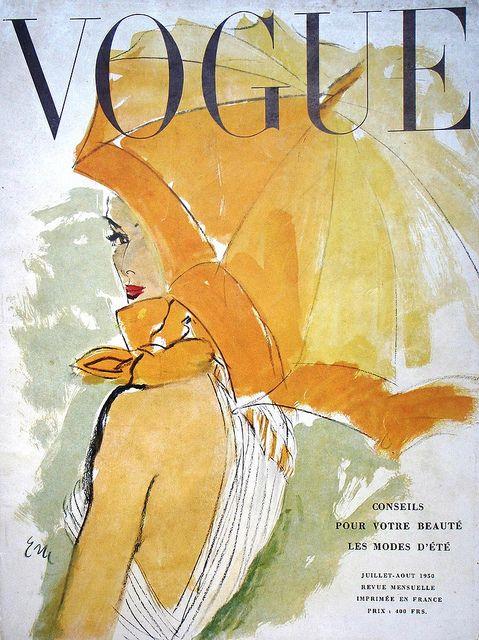 Franse Vogue Augustus 1950.