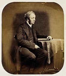 Portret van Dr. Hugh Welch Diamond, 1856.
