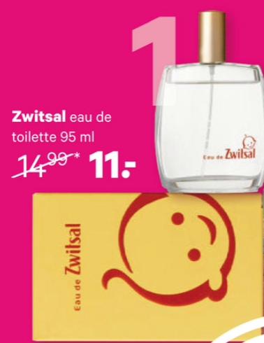 """Zwitsal, een populaire geur bij velen. Voor mij een soort van troostgeur. Het ruikt zo warm en vertrouwd vind ik. Eau de Zwitsal kon je jaren geleden al in Frankrijk kopen. Sinds een tijdje gelukkig ook in Nederland. Ruikt eau de Zwitsal nu echt exact naar Zwitsal uit de flesjes en tubes? Daar kan ik volmondig met """"ja!"""" op antwoorden. Een fijn cadeau voor kleine prinsesjes (hoe cool je eigen parfum?!), érg populair onder pubermeisjes en ook onder veel volwassen vrouwen een favoriet. Tip: ook erg fijn als home/textielspray. Laat er bijvoorbeeld je sokken en of andere kleding heerlijk mee geuren. Of spray een beetje op je kussensloop als je niet kunt slapen. Nu met 4 euro korting bij de Etos!"""