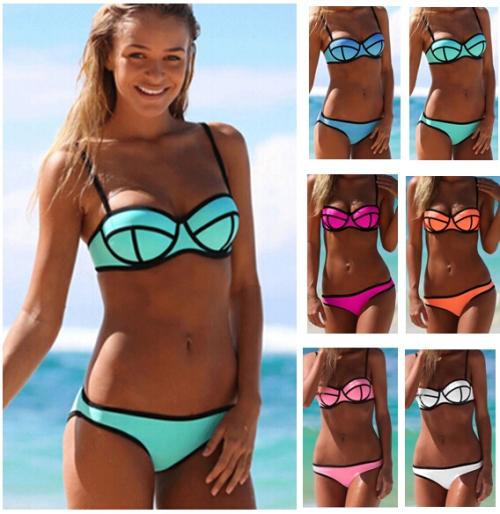 De hipste bikini voor 2015 schijnt het. Maar jemig, ik vind dit zó afschuwelijk lelijk. Ik sla even over!