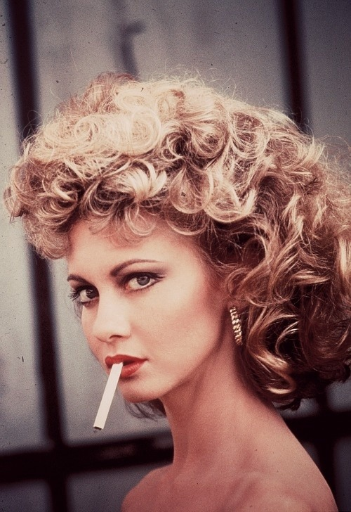 Olivia Newton-John in 'Grease', 1978.