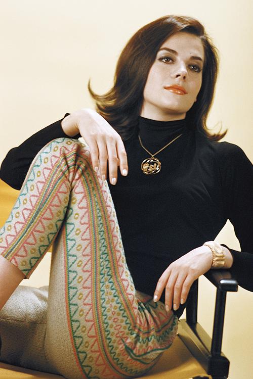 Natalie Wood gefotografeerd door Ernst Haas, 1961.