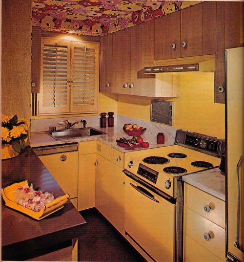 Keuken design 1972.