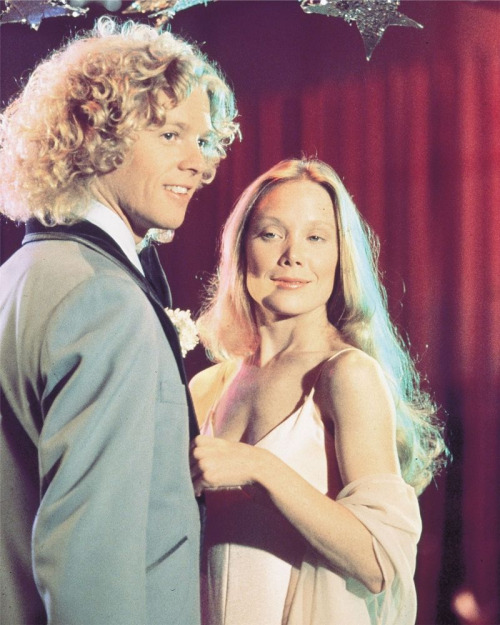 Sissy Spacek en William Katt in 'Carrie', 1976.