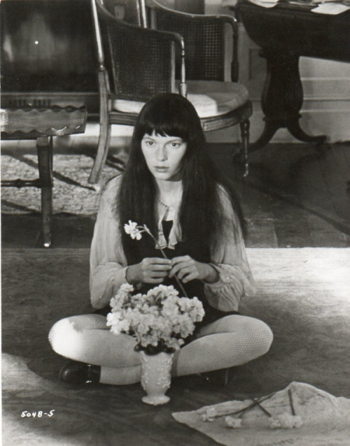 Mia Farrow in 'Secret Ceremony', 1968.