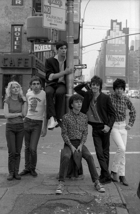 Blondie in New York City.