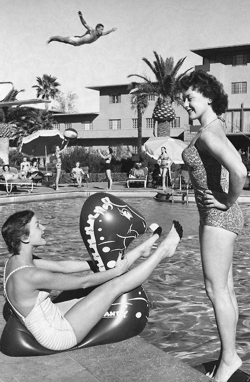 Las Vegas, 1955.