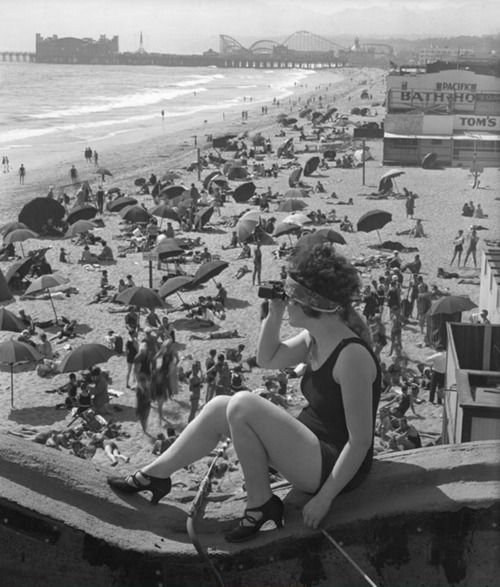 Santa Monica, 1920.